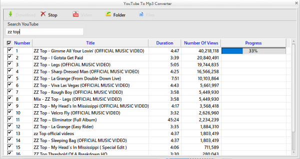 How to download youtube video and convert it to mp3 file