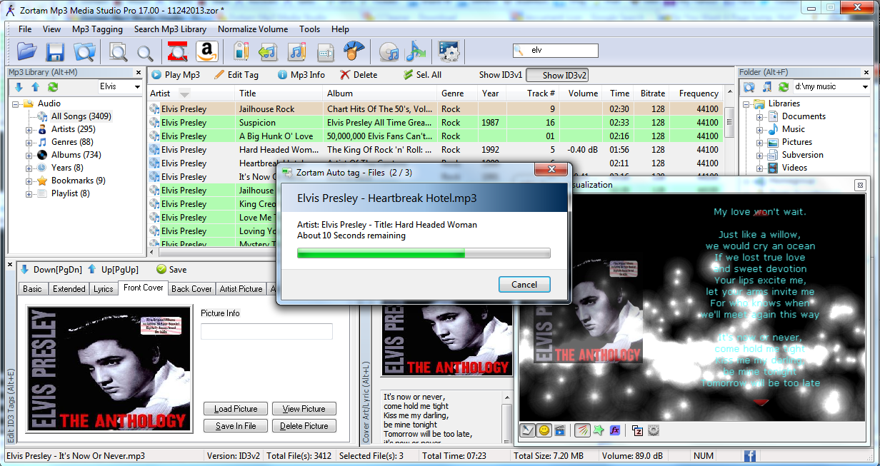 Automatic Mp3 Tagger and The Best Mp3 Manager