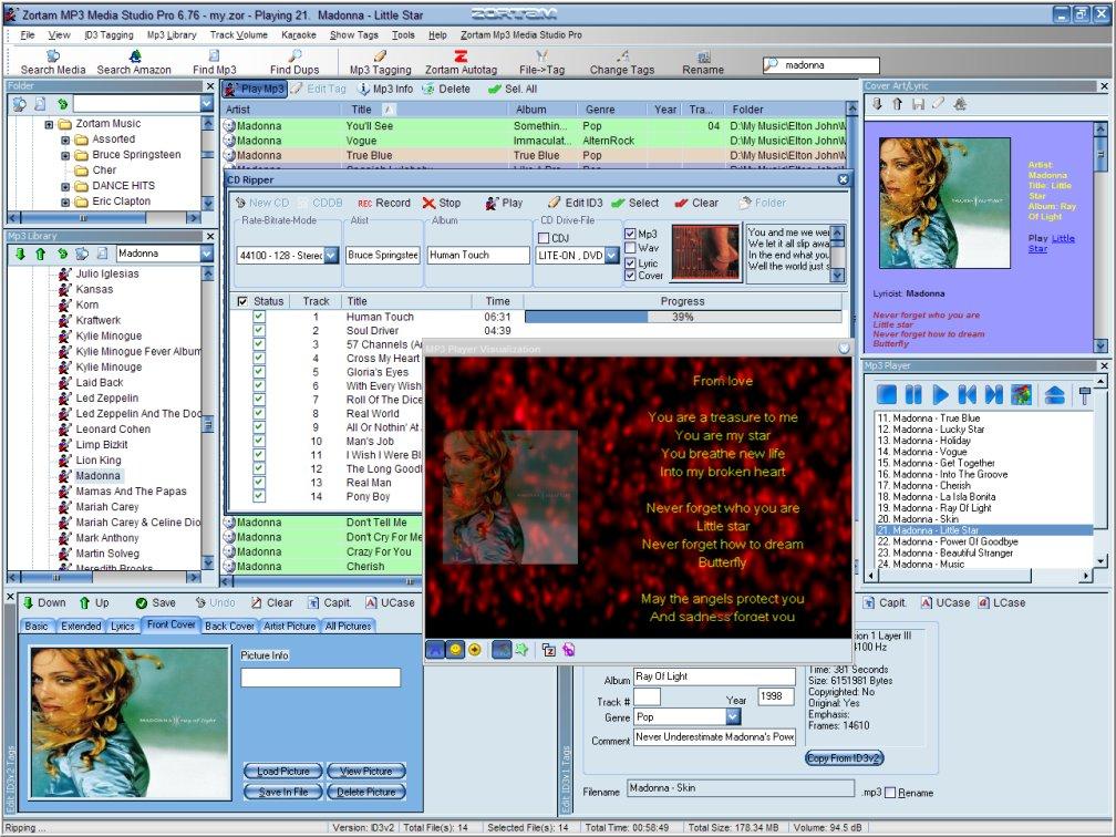 "Zortam Mp3 Media Studio – MP3 管理软件丨""反""斗限免"