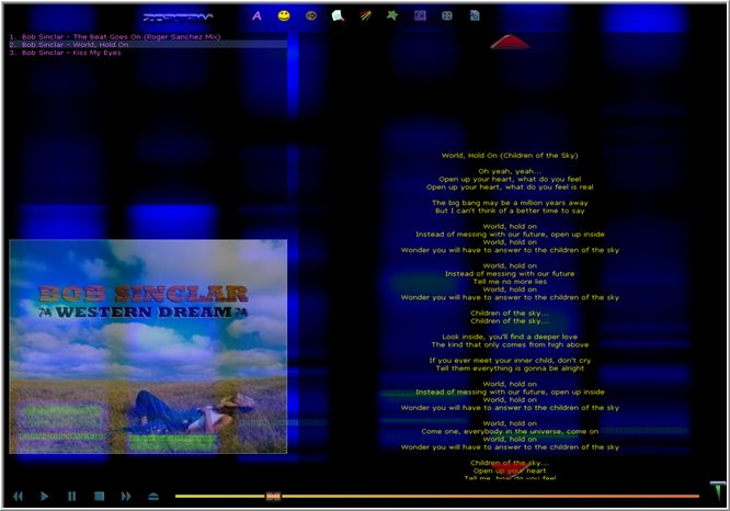 Click to view Zortam Mp3 Player 6 screenshot