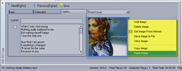 Paste Image To Image window